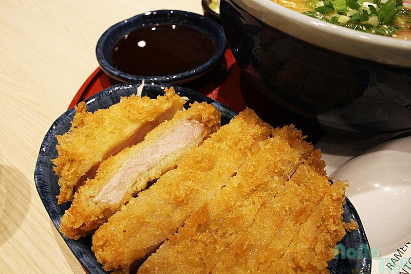 山頭火拉麵《日式炸豬排》