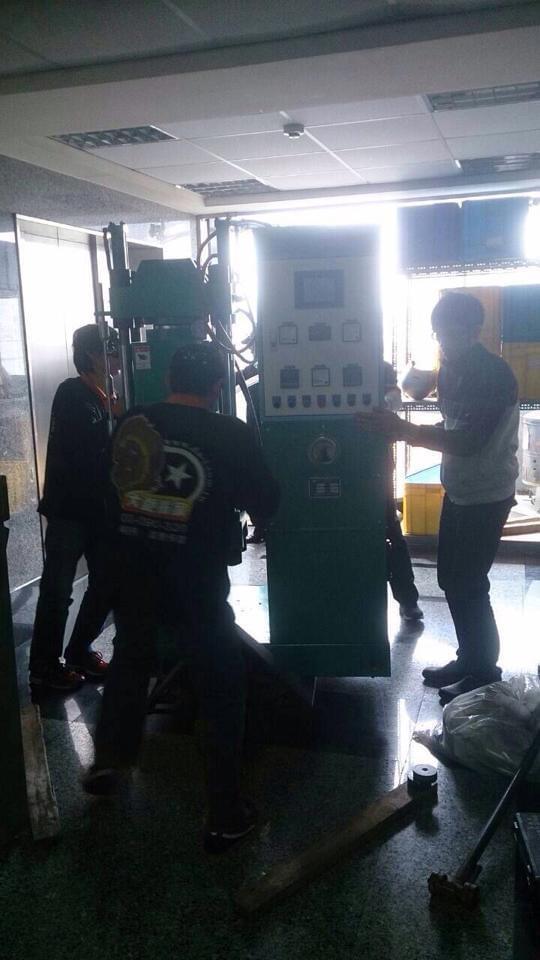 客戶搬家案例–新北市三重區三興電子機械設備搬運
