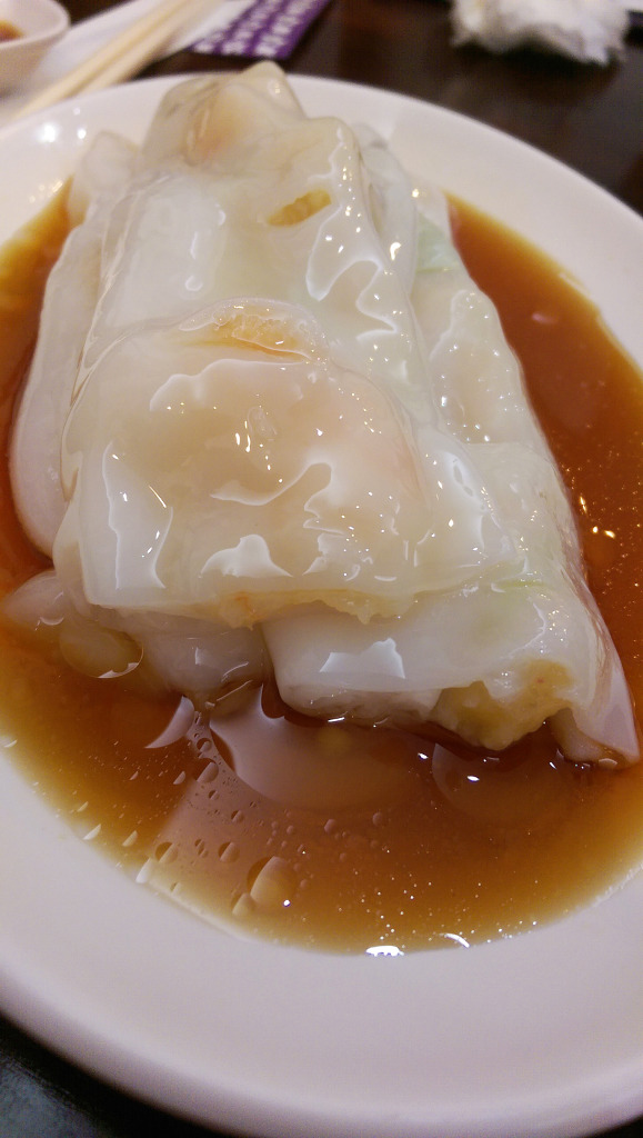 鑫旺角韮黃鮮蝦腸粉