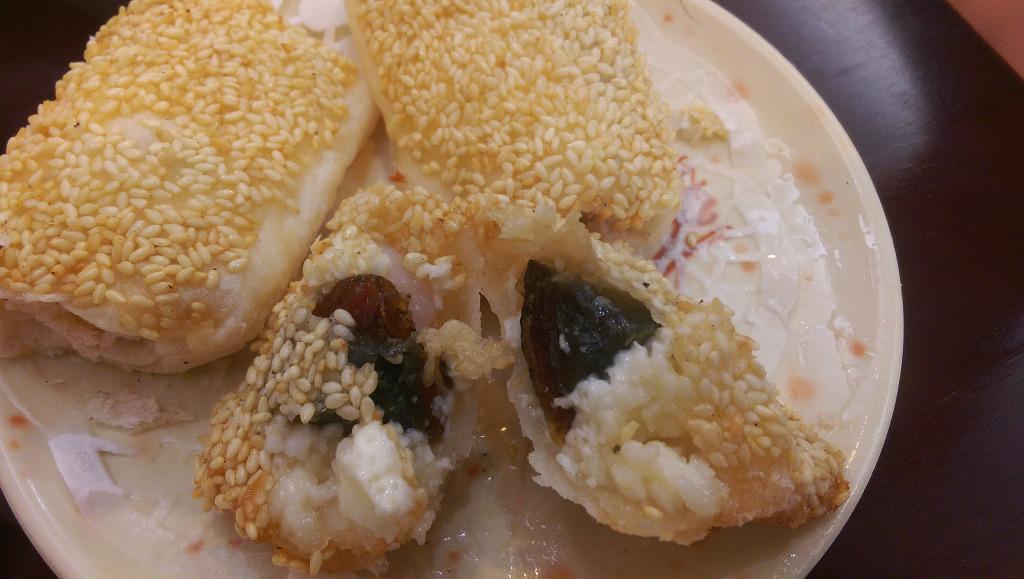 鑫旺角皮蛋炸蝦筒